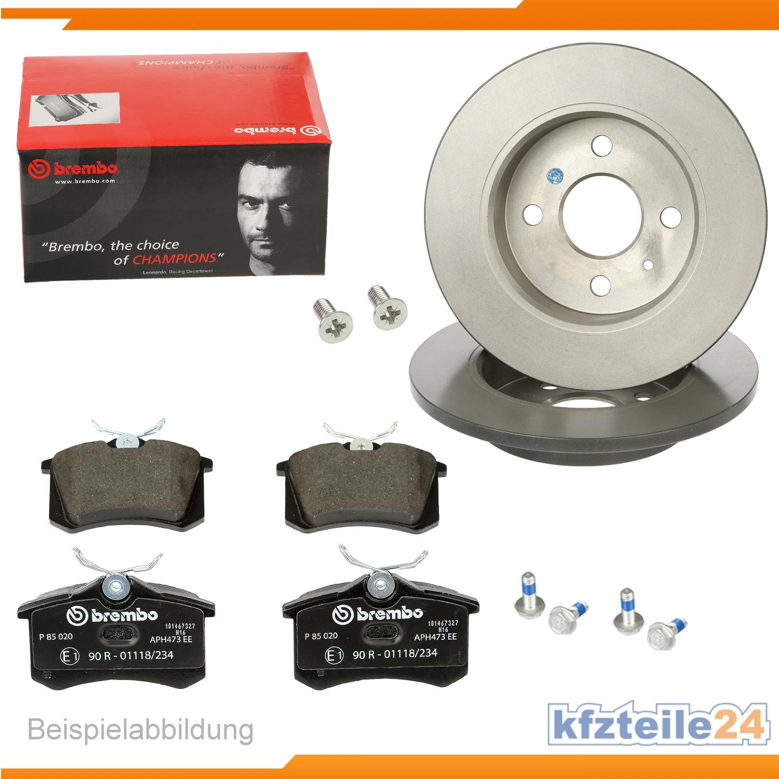 Brembo-Original-Bremsen-Set-Vorderachse-1420-55321-fuer-u-a-Mini-Bremsenset