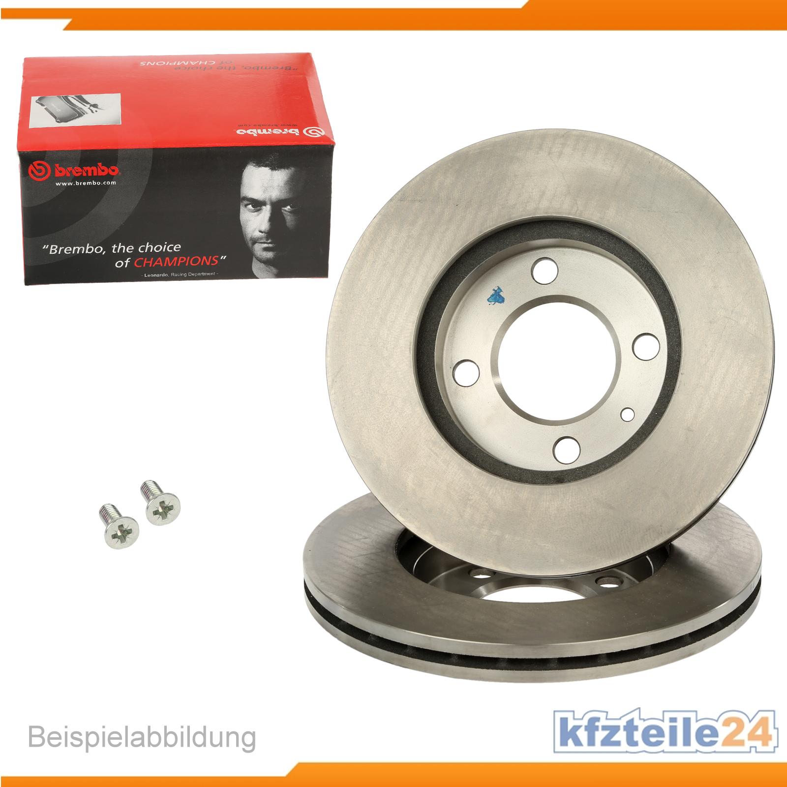 2 original brembo bremsscheiben coated disc line vorne. Black Bedroom Furniture Sets. Home Design Ideas