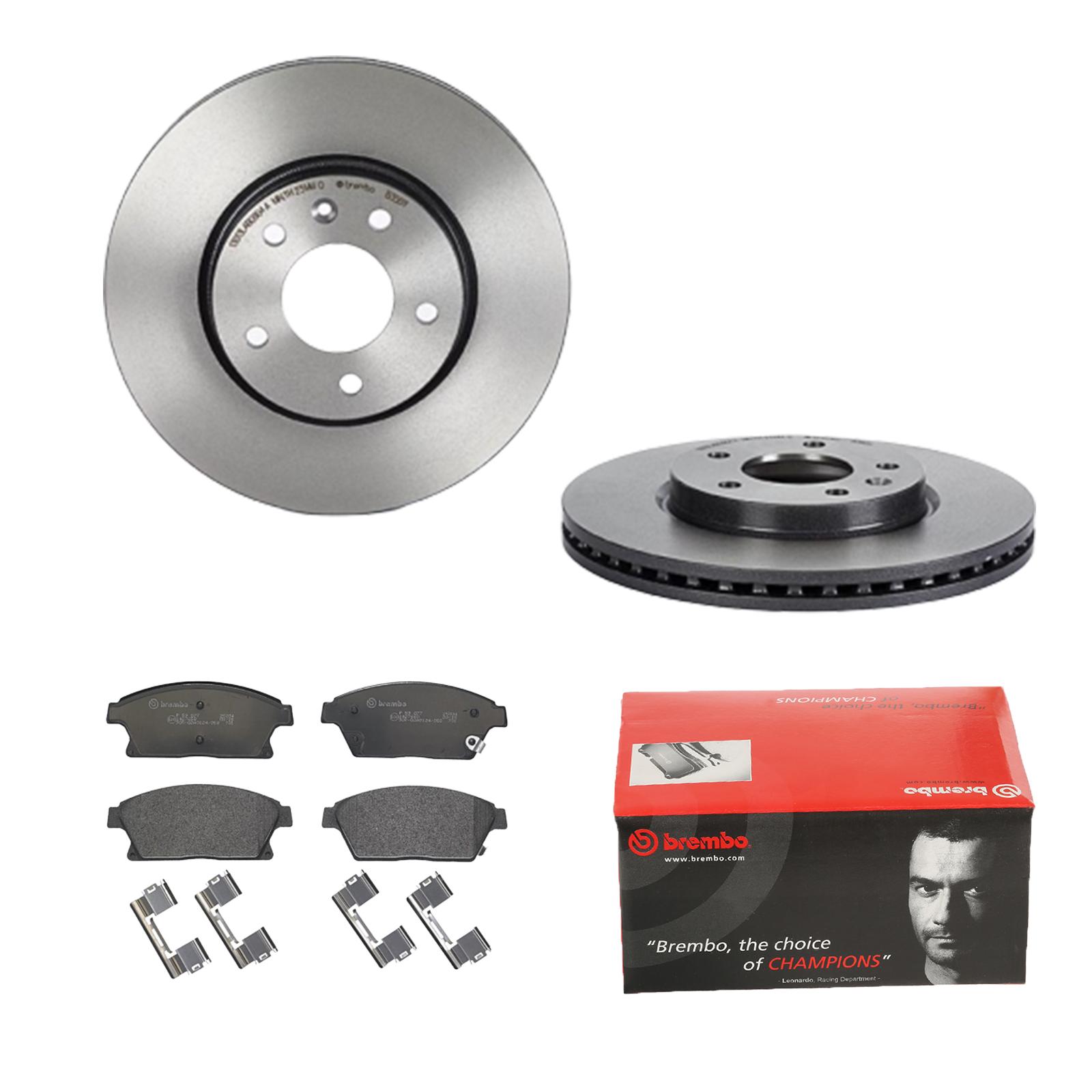 ATE2 Bremsscheiben Belüftet 300 mm Bremsbeläge Vorne u.a für Ford Volvo
