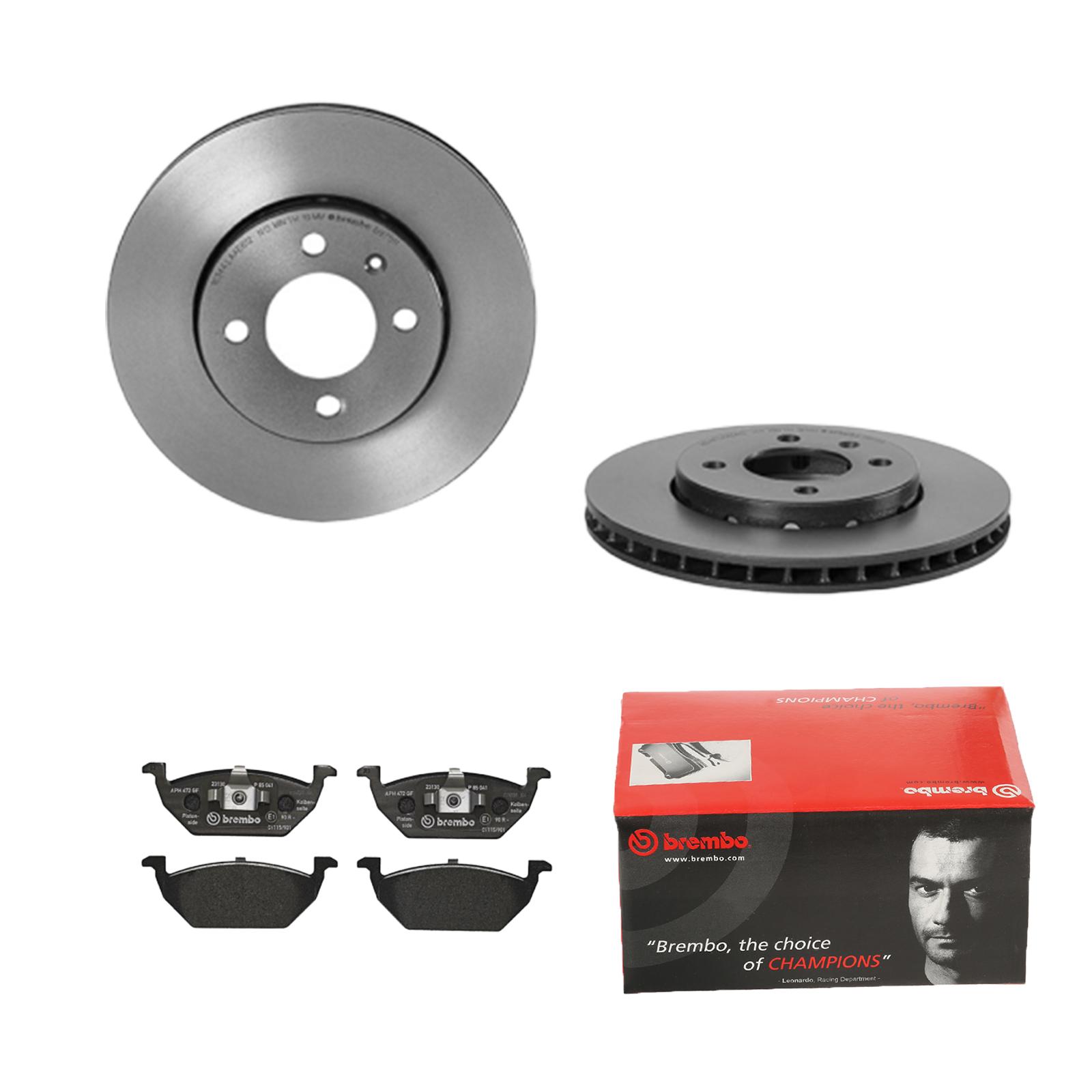 Bremsbeläge Hinten Brembo2 Bremsscheiben COATED DISC LINE Belüftet Ø 330 mm