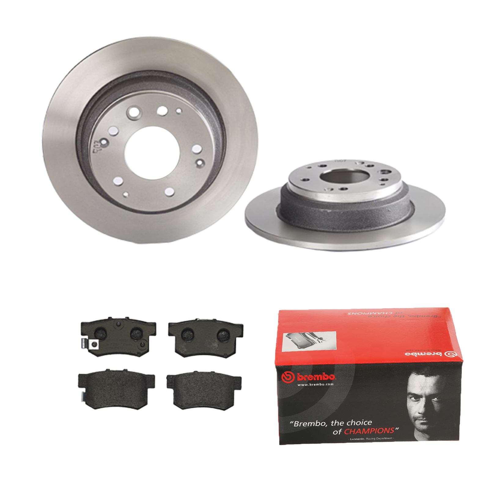 2 discos de freno Full 282 mm ATE ATE Almohadillas de freno Almohadillas de freno traseras para VW Juego de frenos SEAT,