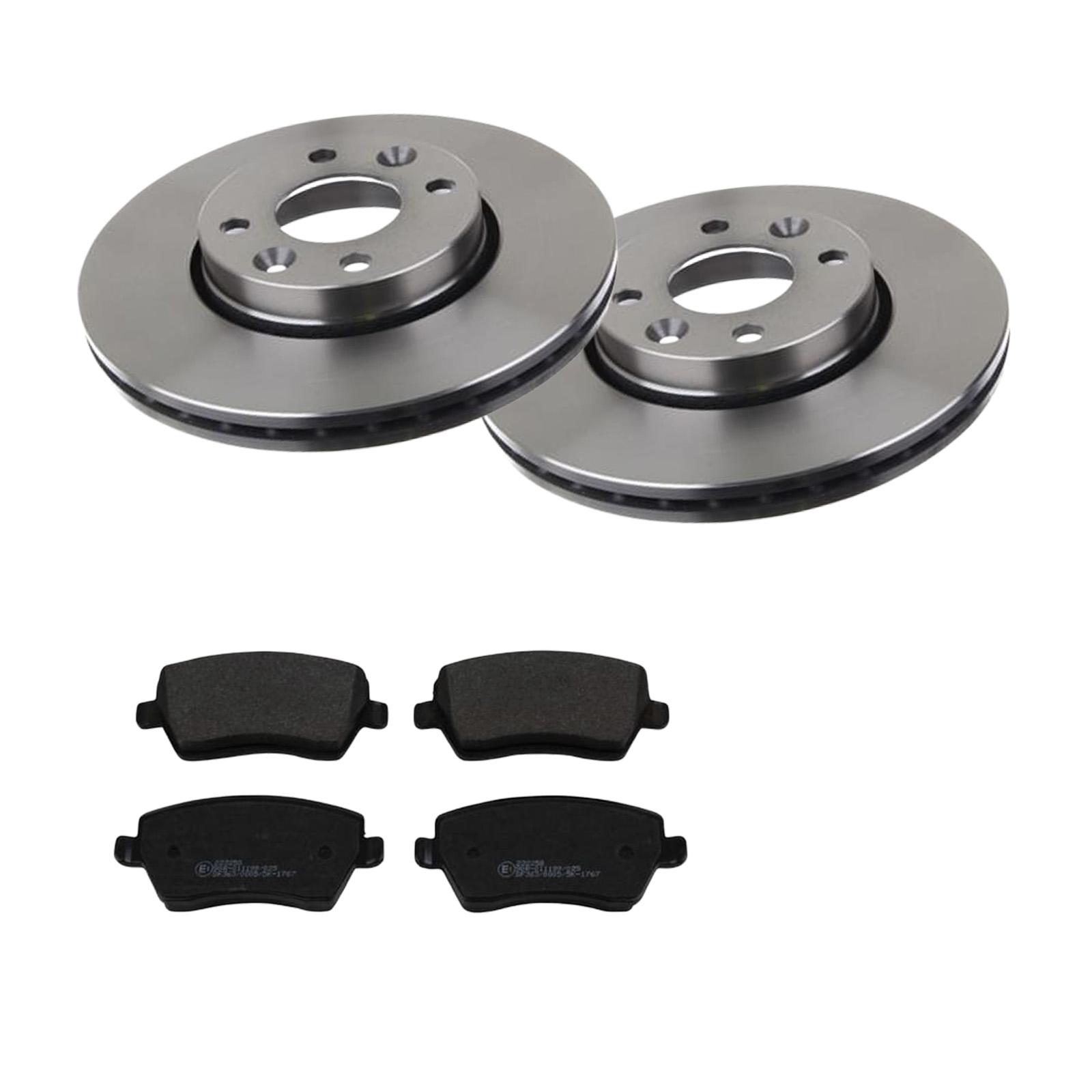 für Toyota ATE2 Bremsscheiben Belüftet 275 mm Bremsbeläge Vorne u.a