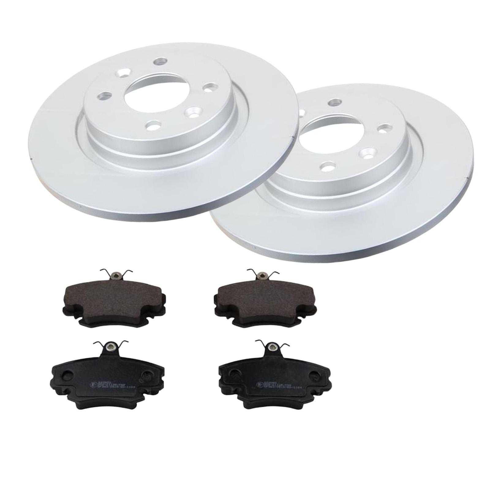 Bremsbeläge Vorne für RENAULT Brembo2 Bremsscheiben Belüftet 259 mm
