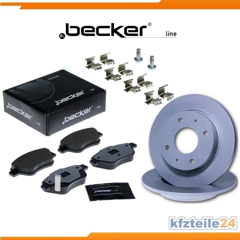 bremsen set bremsscheiben bremsbel ge vorne u a. Black Bedroom Furniture Sets. Home Design Ideas